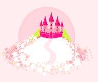 Волшебный замок сказки Стоковое Изображение