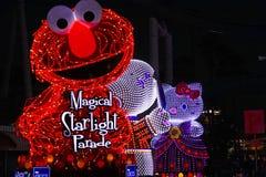 Волшебный парад Starlight на студиях Universal Японии Стоковые Фото