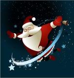Волшебный Санта Клаус Стоковые Фотографии RF