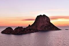 Волшебный утес Ibiza Стоковое Изображение RF