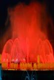 Волшебный фонтан Стоковая Фотография