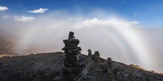 Волшебный Mt Gongga Стоковые Фотографии RF