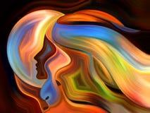 Волшебство внутренней краски Стоковая Фотография RF