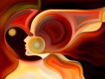 Волшебство внутренней краски Стоковое Изображение RF