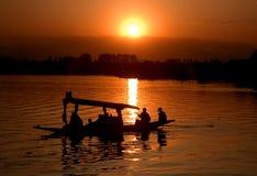 Волшебство захода солнца Стоковые Изображения