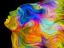 Волшебство покрашенной мечты Стоковые Изображения