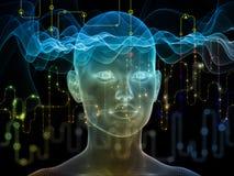 Волшебство потока информации Стоковая Фотография RF