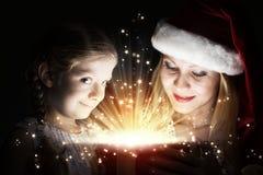 волшебство рождества стоковые изображения