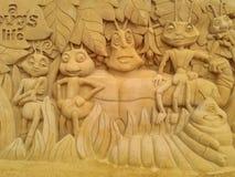 Волшебство Ostende песка Дисней Стоковая Фотография RF