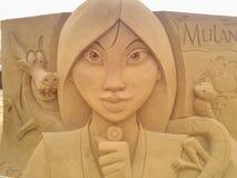 Волшебство Ostende песка Дисней стоковая фотография