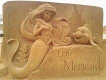 Волшебство Ostende песка Дисней стоковое изображение rf
