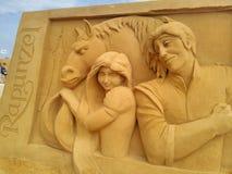 Волшебство Ostende песка Дисней Стоковые Изображения RF