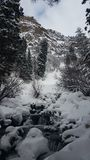 Воды зимы Стоковые Изображения