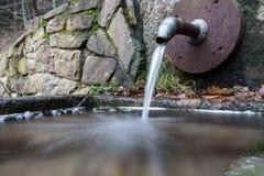 Воды колодец внутри Стоковая Фотография