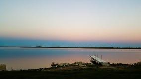 Воды сумрака спокойные Стоковая Фотография