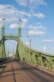вольность budapest моста стоковые изображения rf