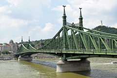 вольность budapest моста стоковое фото