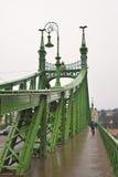 вольность budapest моста стоковая фотография