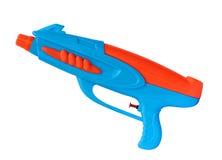Водяной пистолет изолированный на белой предпосылке, (путь клиппирования) Стоковые Изображения