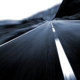 вперед большая дорога Стоковые Изображения RF