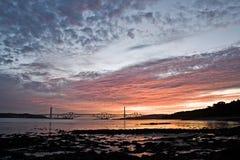 вперед восход солнца Стоковые Изображения
