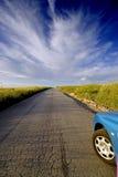 вперед дорога Стоковое Изображение