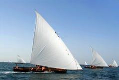 вперед sailing остальных Стоковое Изображение