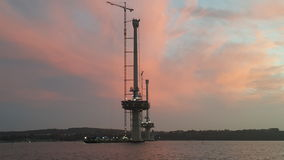 вперед восход солнца Стоковая Фотография RF