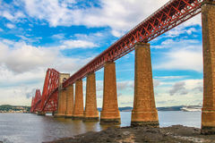 Вперед мост, Эдинбург, Шотландия Стоковые Изображения