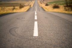 вперед ухабистая дорога Стоковые Фотографии RF