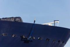 Впечатления от крестить корабля Стоковые Фотографии RF