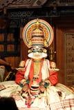 Впечатляющая сцена ` Keechakavadham ` в Kochi Стоковые Изображения RF