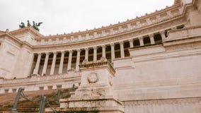 Впечатляющий национальный монумент Виктора Emmanuel в Риме стоковые изображения