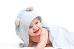 вползать младенца милый Стоковое Фото