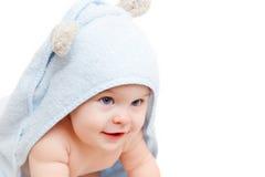 вползать младенца милый Стоковая Фотография RF