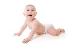 вползать младенца Стоковая Фотография