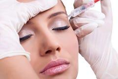 Впрыска Botox Стоковая Фотография
