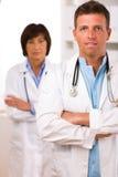 врачует медицинскую бригаду Стоковые Изображения