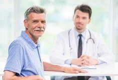 врачуйте пациента стоковое изображение rf
