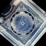 Вращанный красивый дизайн потолка в Гринвиче Стоковые Фото