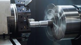 Вращанный механизм индустрии - автоматический для обрабатывать машины металла, промышленной предпосылки стоковые фото
