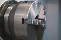 Вращанный механизм - обрабатывать деятельности металла, промышленной предпосылки стоковые фото