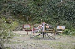 Вращаясь carousel Стоковые Изображения RF