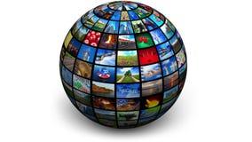 Вращая глобус изображения бесплатная иллюстрация