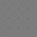 Вращая картина квадратов repeatable абстрактная Monochrome текстура Стоковое Изображение