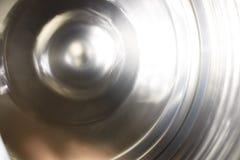 Вращая колесо Вращая механизм, сфотографированный на долгой выдержке Стоковое Фото