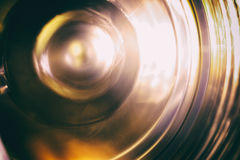 Вращая колесо Вращая механизм, сфотографированный на долгой выдержке Стоковые Изображения