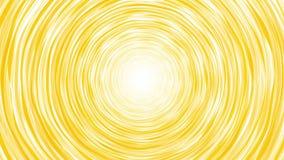 Вращая нарисованная рука торнадо желтая бесплатная иллюстрация