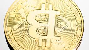 Вращая bitcoin, безшовная петля сток-видео
