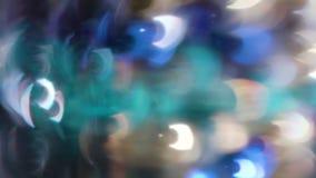 Вращение Bokeh кругов в a по часовой стрелке Стоковое Изображение RF